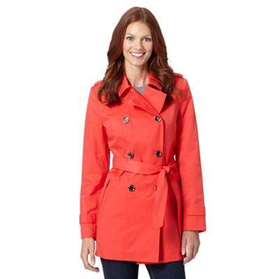 footwear finest selection outlet online Principles by Ben de Lisi Designer bright red zip pocket mac ...