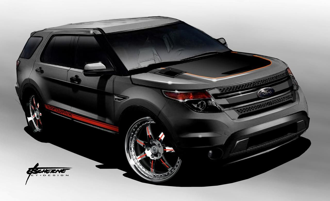 2011 Ford Explorer By Stitchcraft Interiors Photo 427391 S 1280x782 Jpg ١٢٨٠ ٧٨٢ Pixels 2011 Ford Explorer Ford Explorer Ford Suv