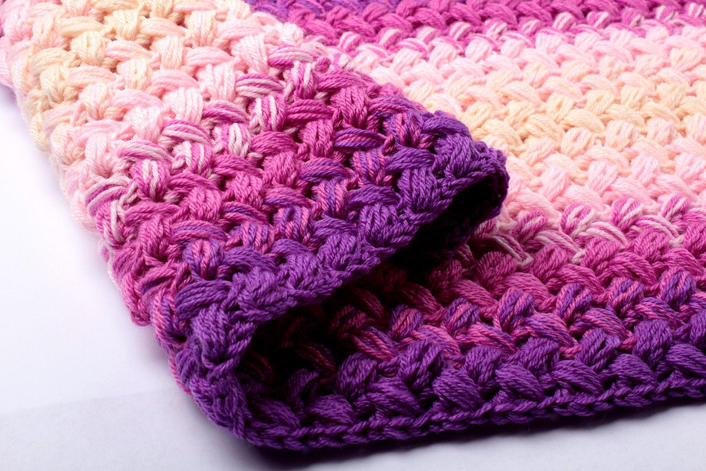 Crochet Zig Zag Blanket Pattern Free – Yarn Twist | Crochet | Pinterest