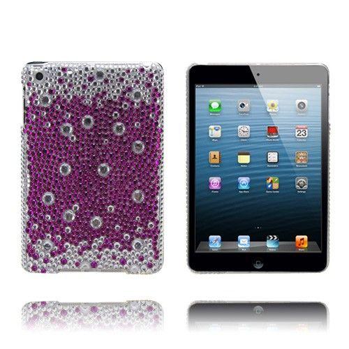 Diamond Bling (Violetit Tipat) iPad Mini Tekojalokivi Kotelo