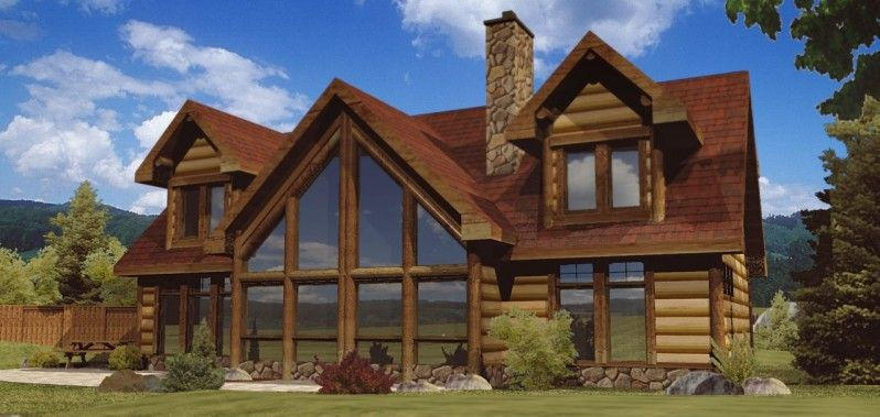 Alpine Meadow Iii Log Homes Cabins And Log Home Floor