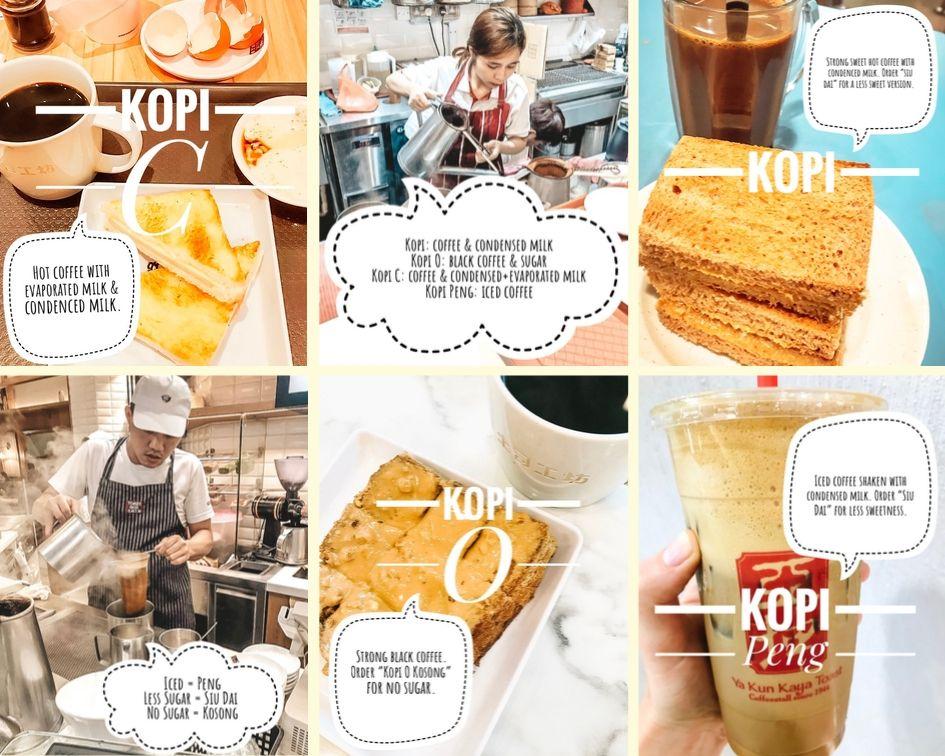 Singapore Coffee Guide Illustrated Sweet Coffee Coffee Guide Coffee Shake