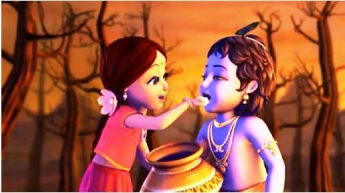 Pin By Happy Wanderlusting On Krishna Lord Krishna Images Cute Krishna Krishna Radha Painting