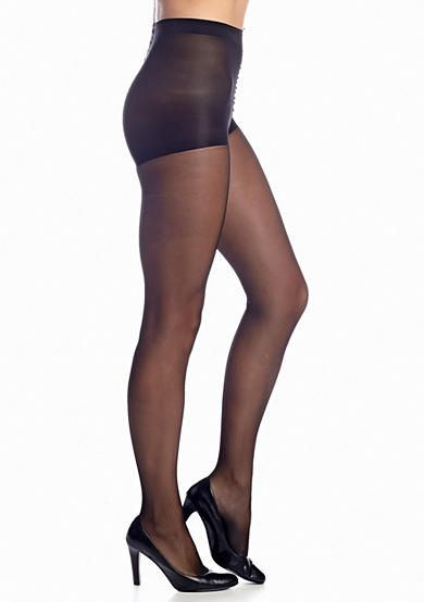 Control Top Pantyhose Shimmer Sheer
