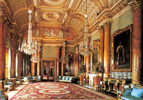 Buckingham Palace The Blue Drawing Room Google Search