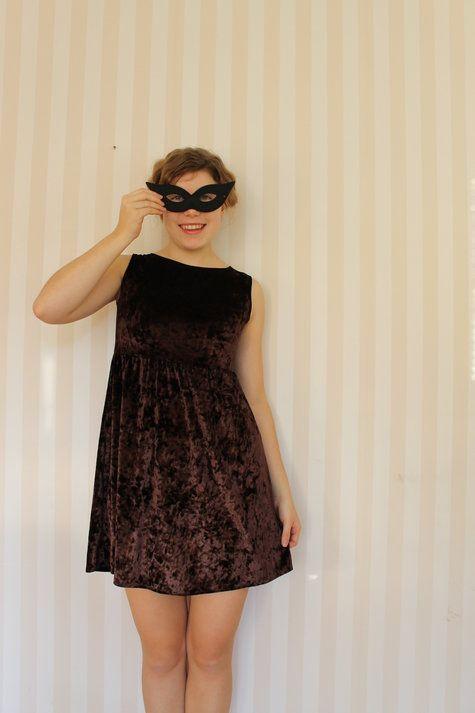 another velvet dress ... love it