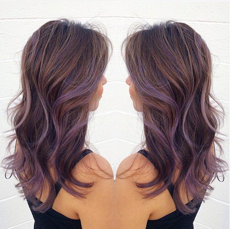 Lavender Balayage | Hair | Pinterest | Balayage, Lavender ...