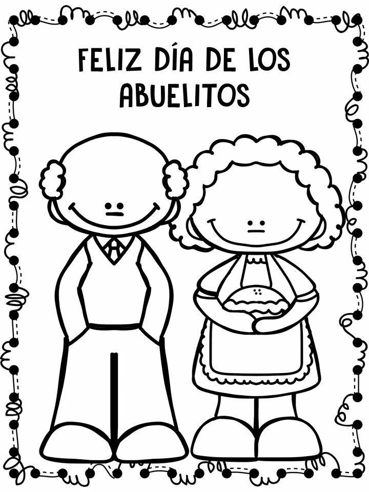 Pin von Denia Patricia Quesada V. auf Día de Abuelitos | Pinterest