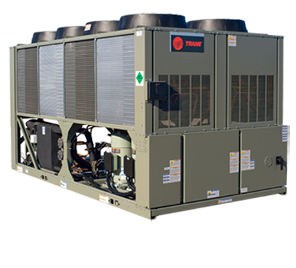 Air Cooled Chillers Trane Commercial Refrigeration And Air