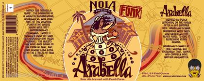 mybeerbuzz.com - Bringing Good Beers & Good People Together...: NOLA - Arabella & Stone Co-Brewed Bringer Of Destr...