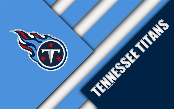 Download wallpapers Tennessee Titans, 4k, logo, NFL, AFC