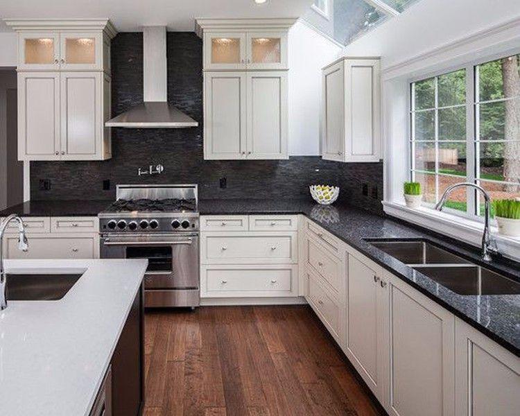 Modern Design High Quality Polished Black Marble ... on Best Backsplash For Black Countertops  id=95002
