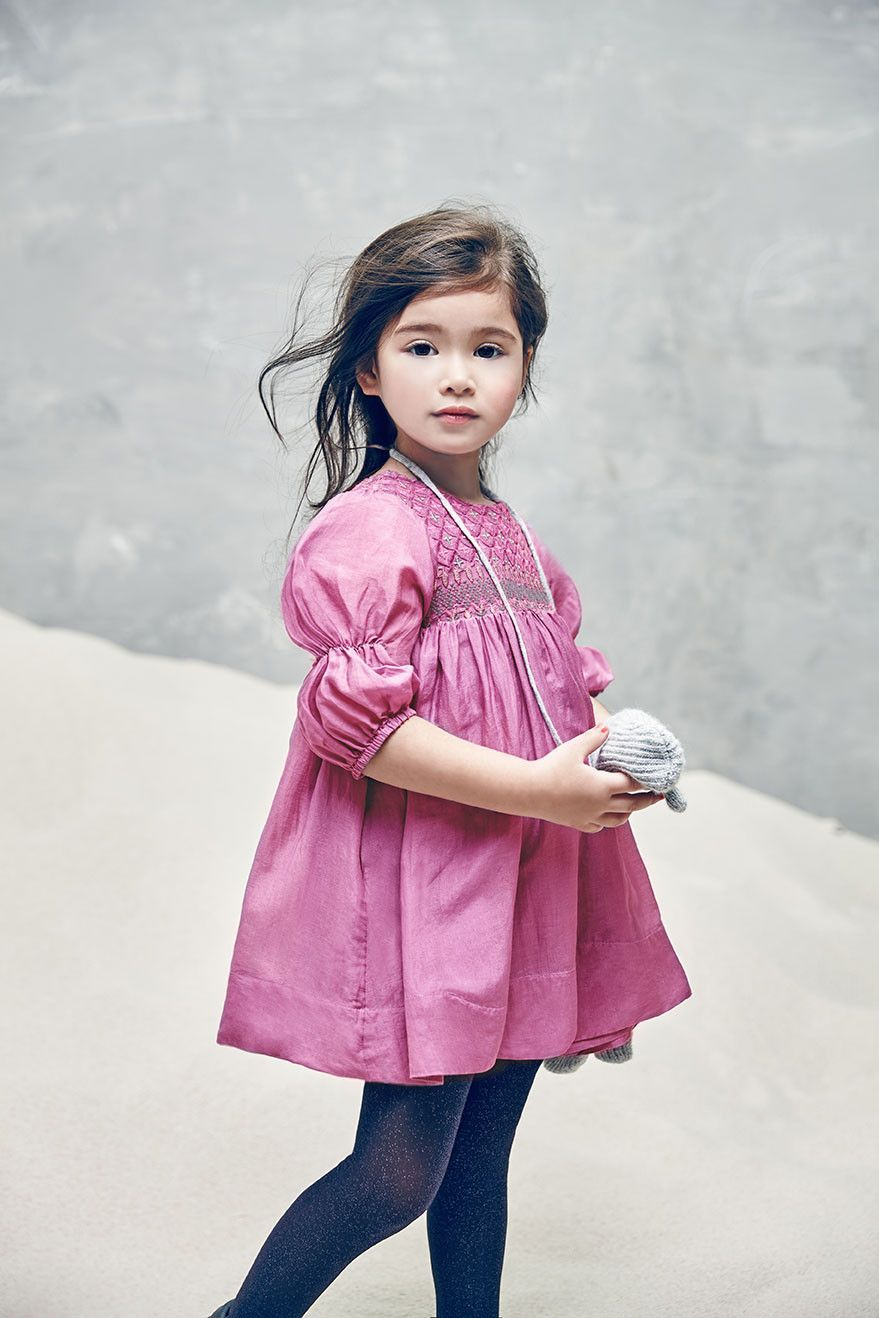 Nellystella Clover Dress in Rose Violet (Size 8)   Ropa niña, Moda ...