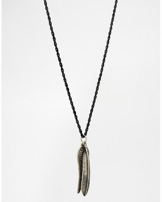 Mens Jewelry Men/'s Feather Jewelry -Gift For Him Men/'s Necklace Black Leather Wire Necklace With Feather Pendant