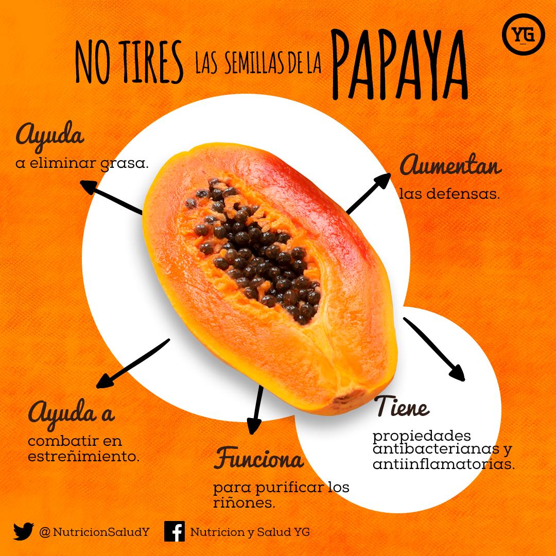 Propiedades de la semilla de papaya para adelgazar