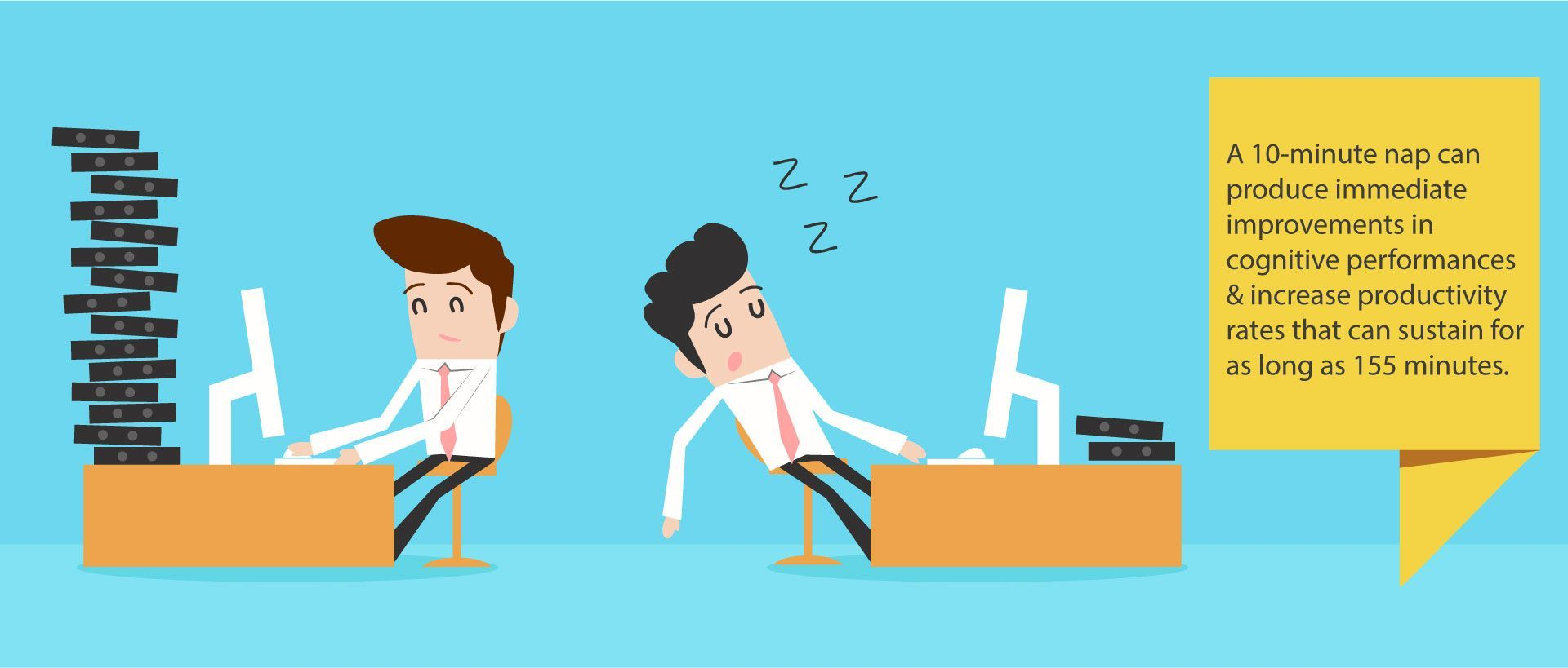 Power Naps for Productivity?Power naps can alleviate our