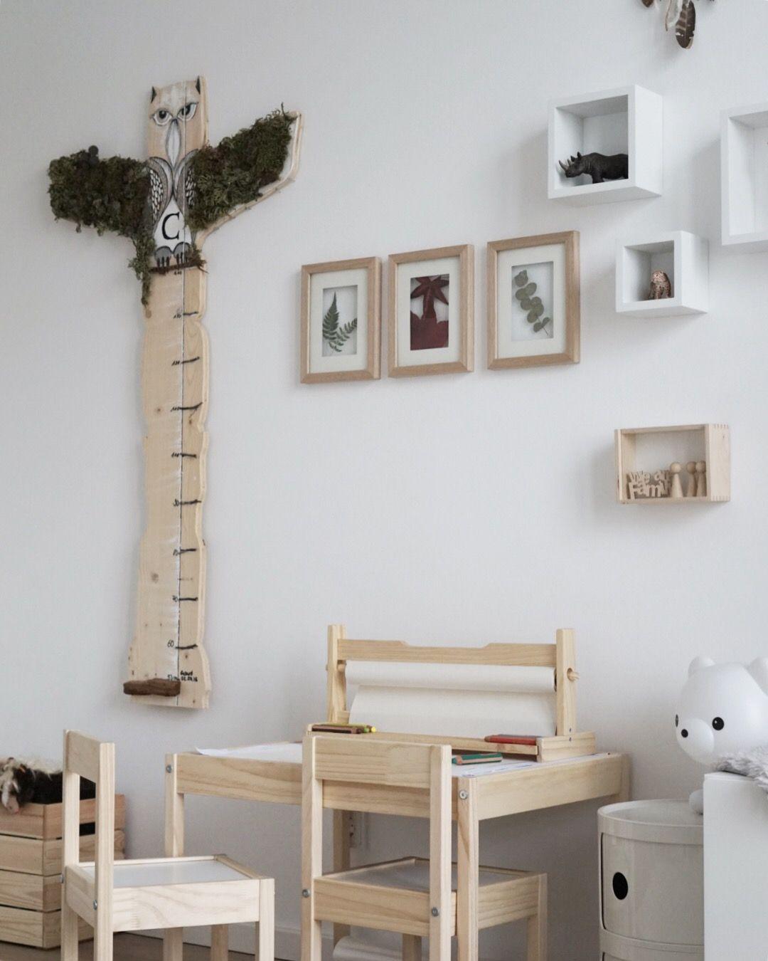 Kinderzimmer malen malplatz Ikea Holz Natur Mädchenzimmer