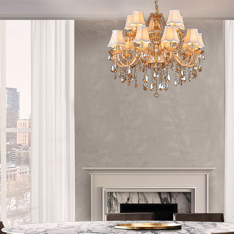 Luxury Crystal Chandelier European Ceiling Light Bedroom Living Room Hq 9014 Crystal Chandelier Ceiling Lights Pendant Lighting Dining Room