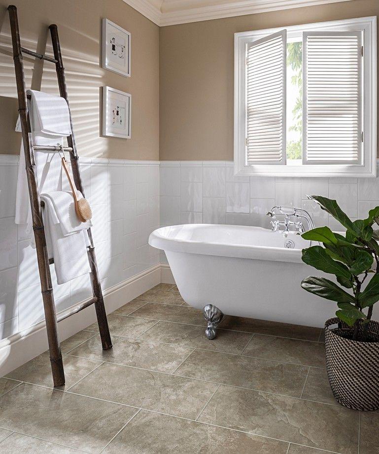 simply whites™  topps tiles  white tile bathroom walls