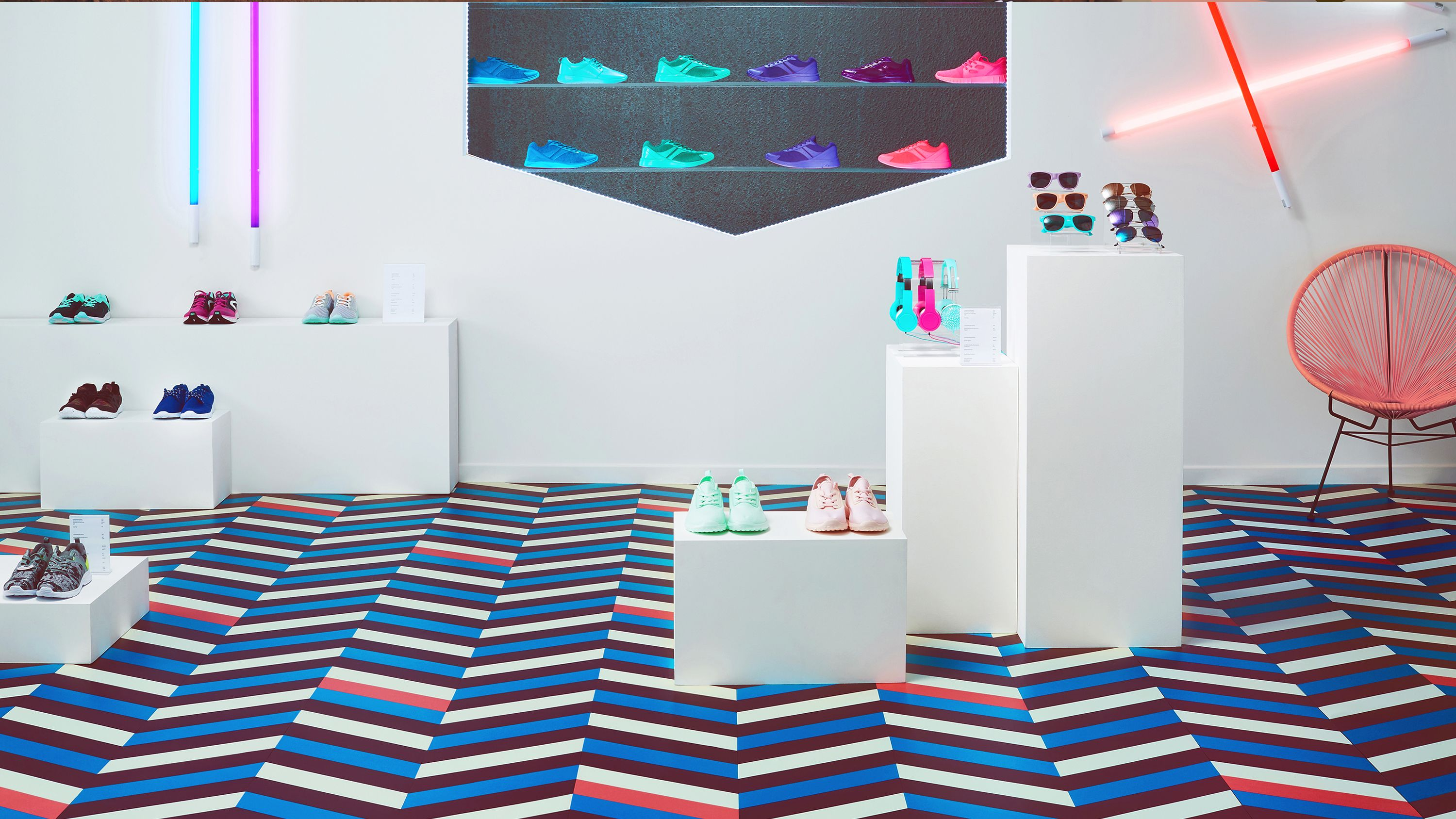 Looking For Flooring That Will Give Your Store A Funky Colourful