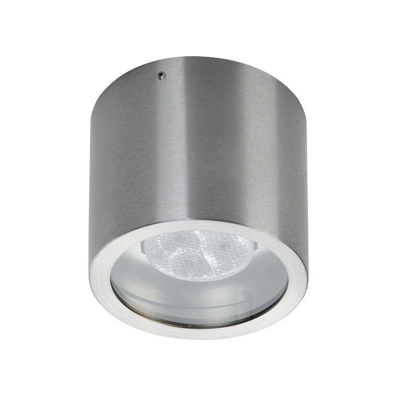 Albert Deckenspot mit LED 4,5W schwenkbar, 6300°K , Edelstahl - Led Einbauleuchten Küche