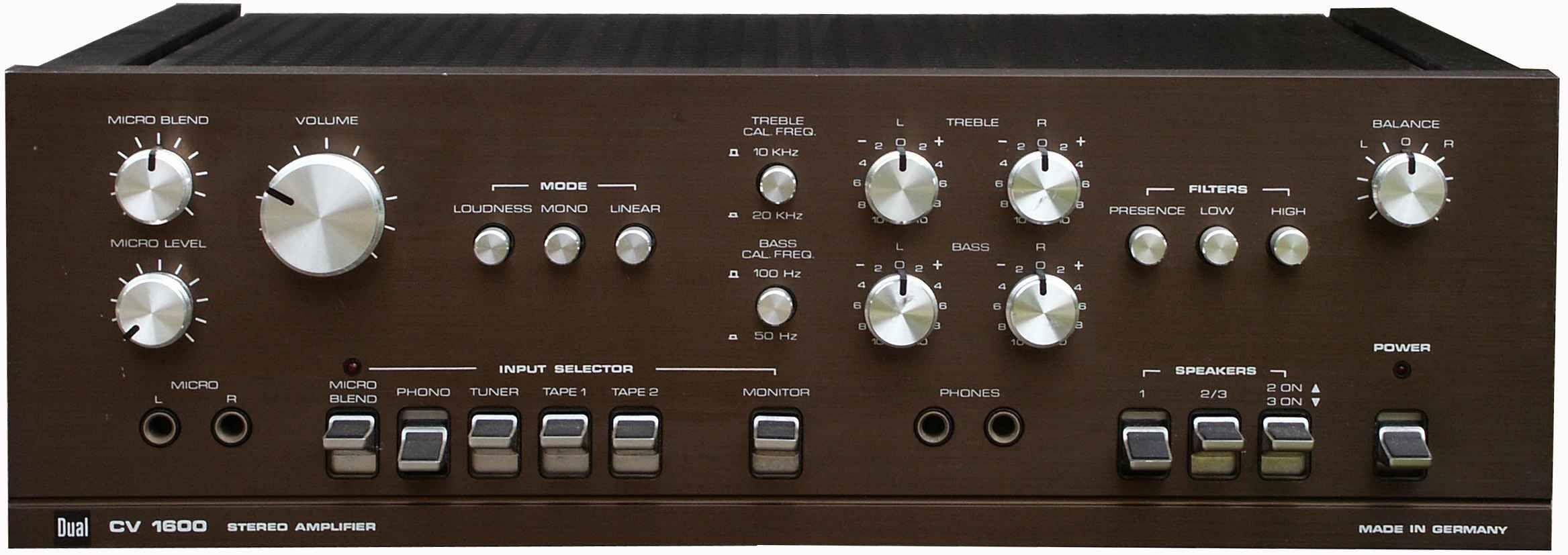 Dual Cv 1600 Hifi Dual Audio