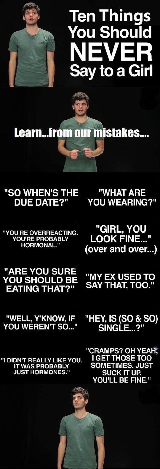 Funny Things To Say To Your Gf