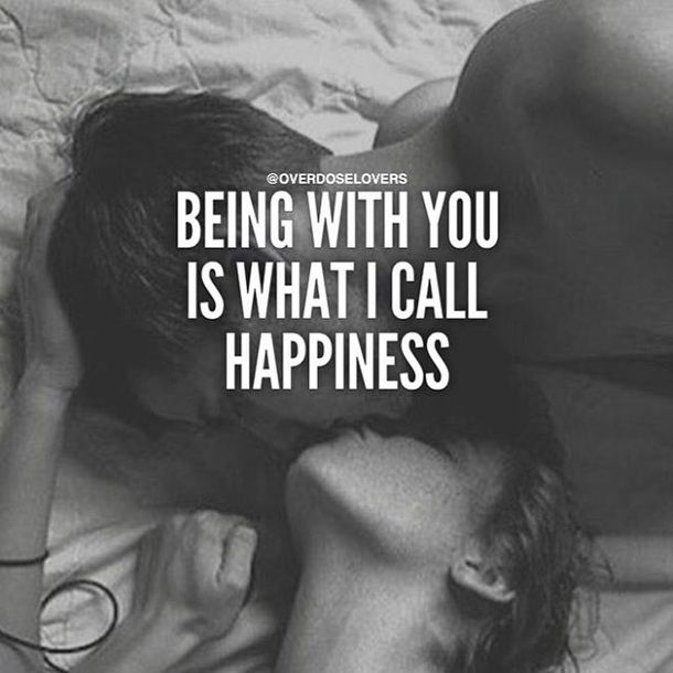 Being with you is what I call happiness and being with you is my dream!! <3 <3 <3 <3 <3