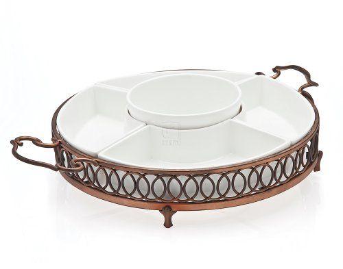 Godinger Godinger Hanover 5 Part Relish Dish, Copper, All Other Materials Godinger http://www.amazon.com/dp/B007QPPRCS/ref=cm_sw_r_pi_dp_RLq2ub02EMH2P