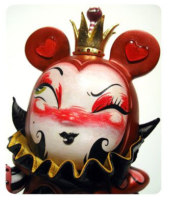 Miss Mindy: Red Queen & White Rabbit - Final pics & process...