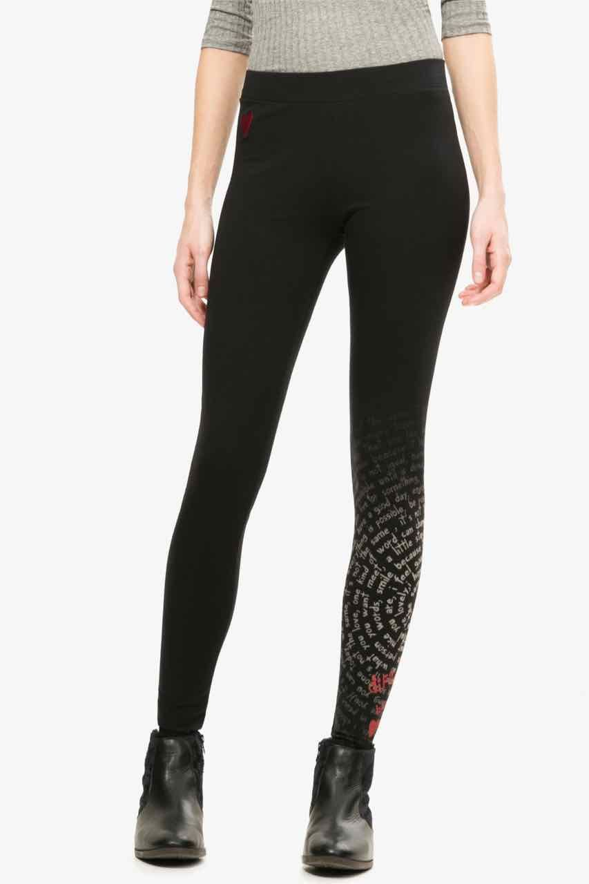 Black Desigual And Pinterest Tights Leggings Legging Ua7waqd8r