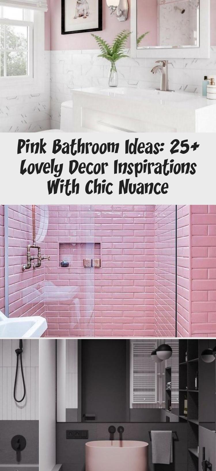 Pink Bathroom Ideas 25 Lovely Decor Inspirations With Chic Nuance Bathroom Bathroom Chic Decor Ideas Inspi In 2020 Pink Bathroom Decor Inspiration Marble House