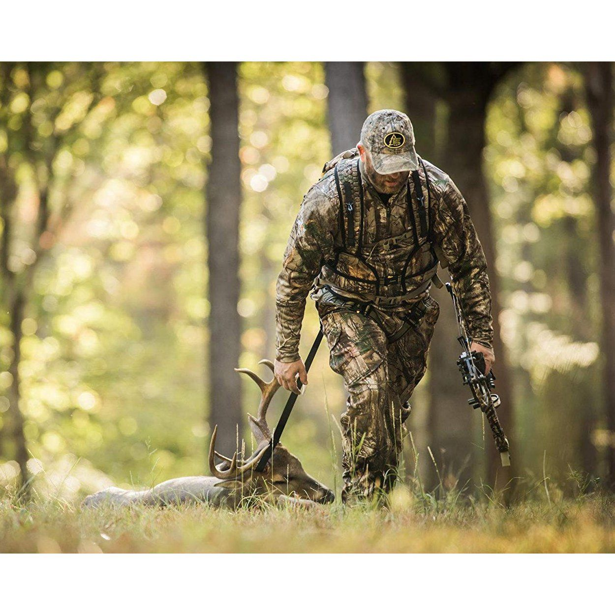Hunter Safety Systems Camo Hunting X 1 Bowhunter Tree