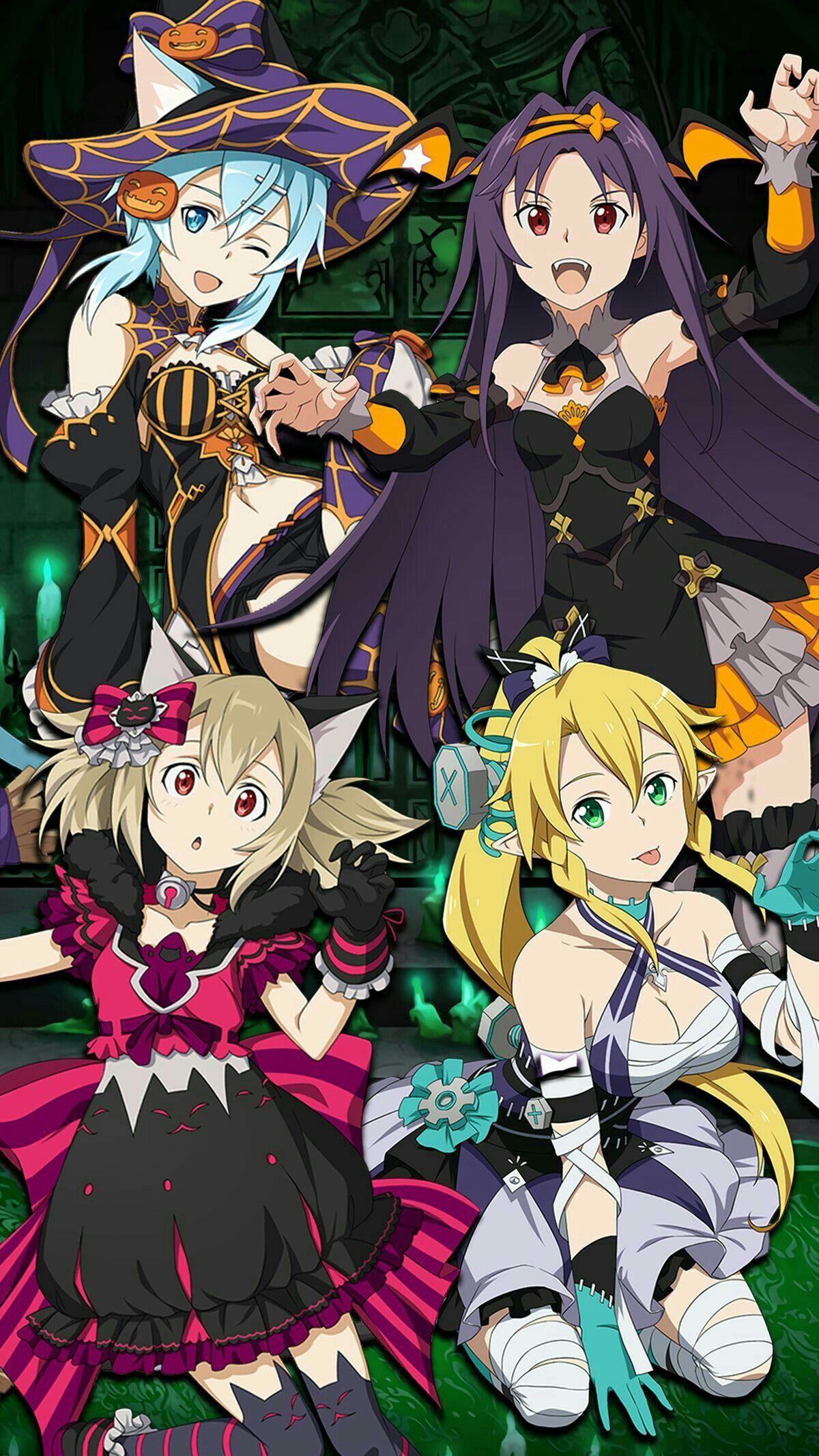 Sao Ggo Sword Art Online Anime Characters El Swords Girls Halloween 2 Gusto