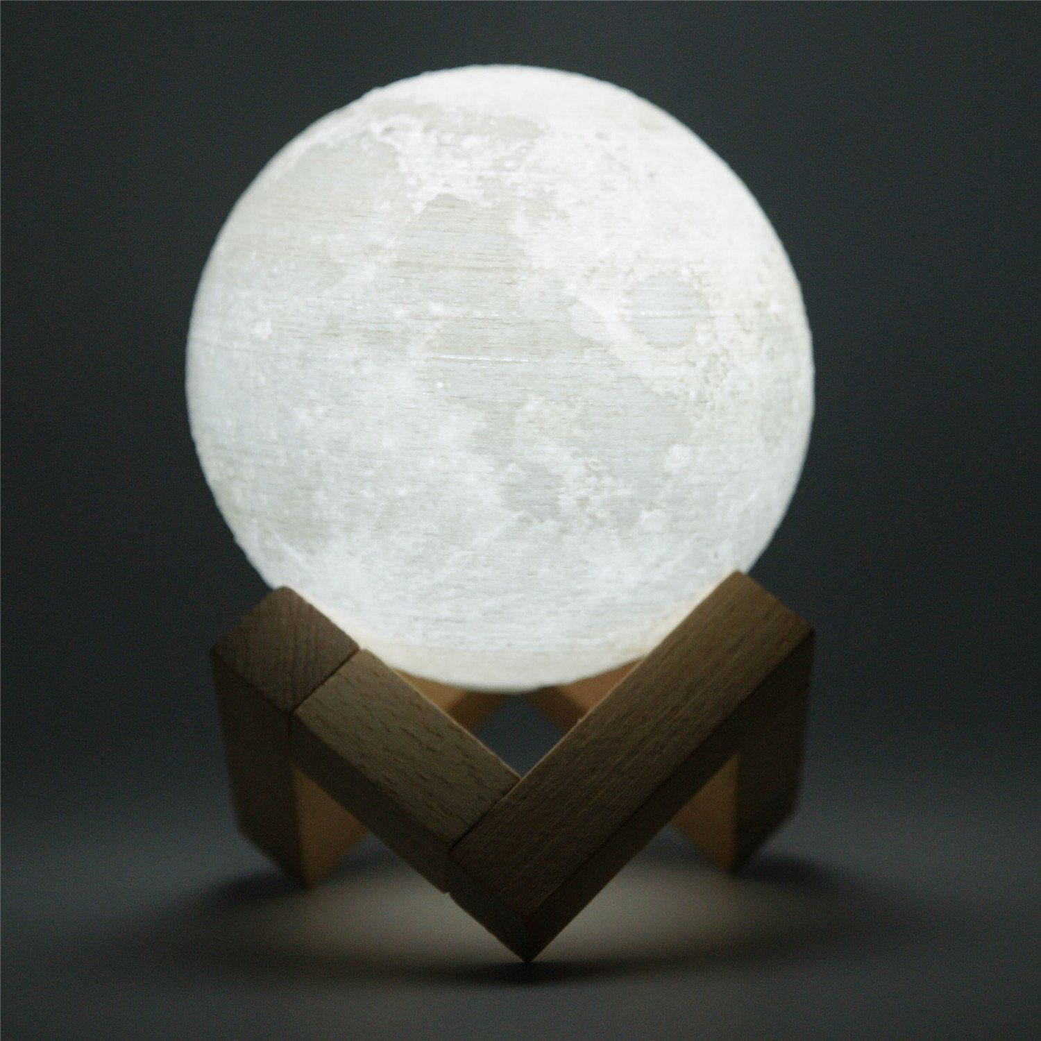 Soma 3d printed realistic moon lamp buy me pinterest moon soma 3d printed realistic moon lamp arubaitofo Image collections
