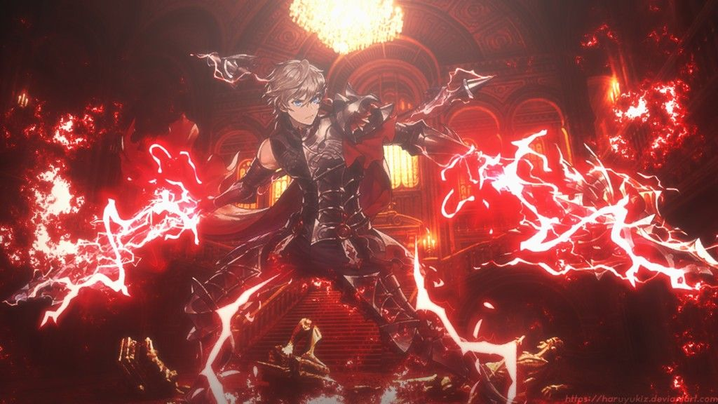 Theo Magical Warrior Stun King Wallpaper Anime Guys Magical
