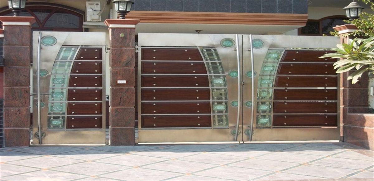 Stainless Steel Gate Manufacturers In Delhi Fachada