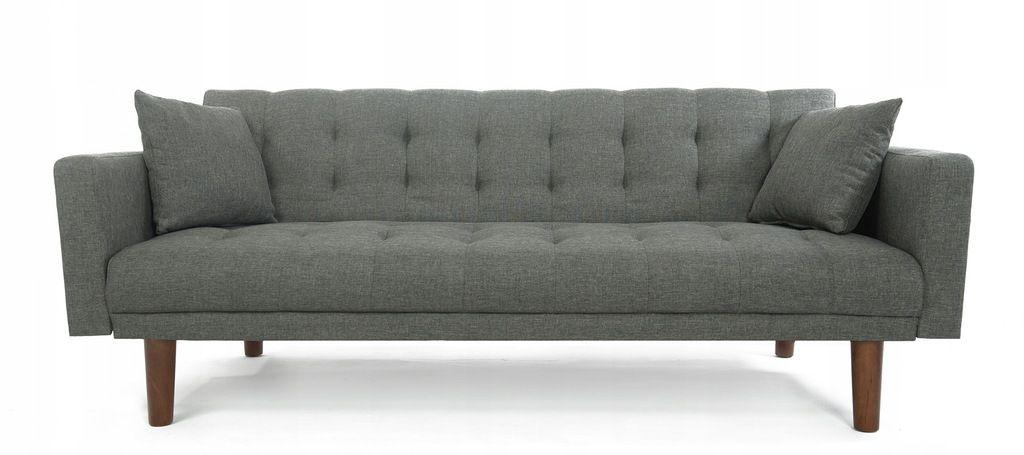 Duza Rozkladana Sofa Kanapa Skandynawska Mona 185 7488744862 Oficjalne Archiwum Allegro Love Seat Furniture Couch