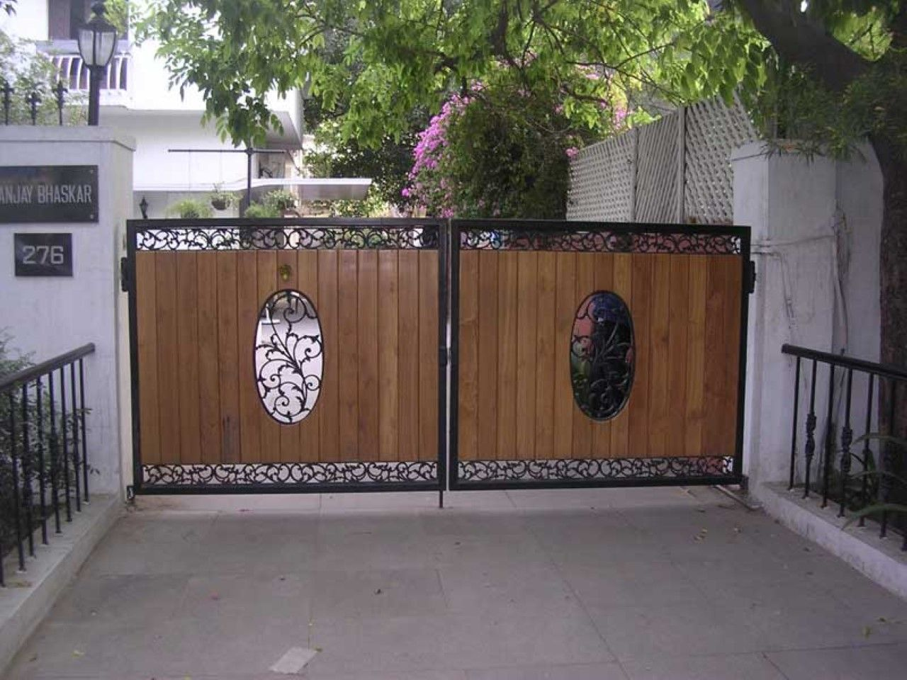 Gate Design Ideas lovable design gate wallpaper 2016 and main gate designs ideas and tips experts decoration with pics Gate Designs To Enhance Your House Security And Beauty Horrible Home