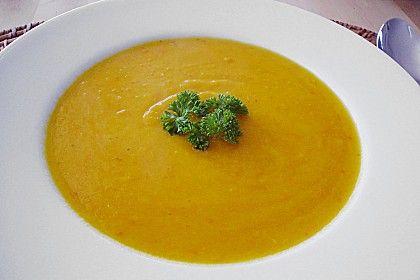 Kürbissuppe (Rezept mit Bild) von SnakeBite | Chefkoch.de  => getestet und für sehr gut befunden! Habe etwas weniger Ingwer genommen.