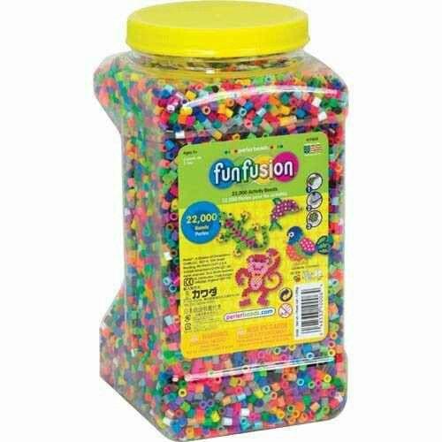 El pote de perler beads