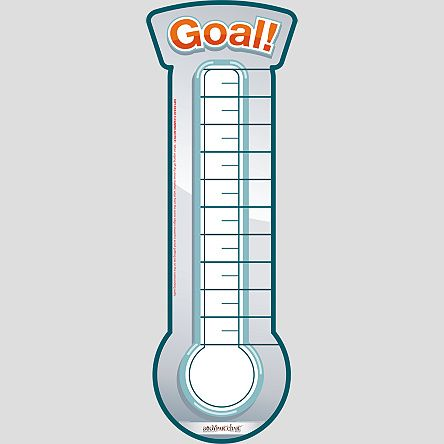 Goal Thermometer  Bodypartchart Official Site  Health