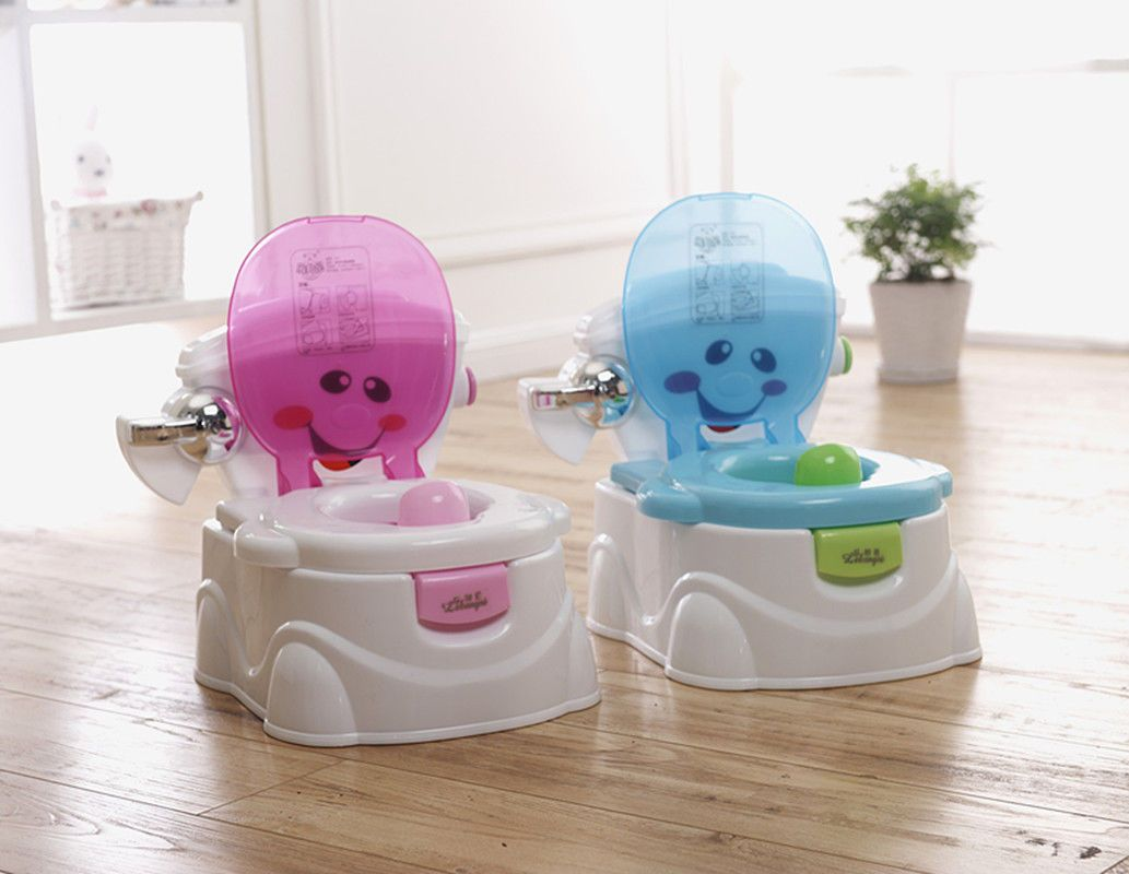 Kids Portable Toilet Training 2 in 1 Baby Toddler Potty Seat Trainer Chair