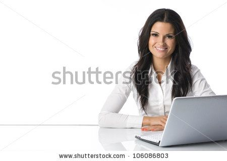 Stock Photo  Computer LaptopWomanGirl BusinesswomanGirl