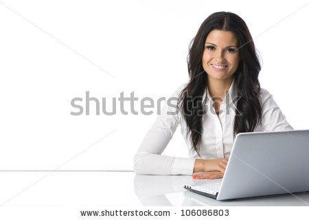 Stock Photo  Computer LaptopWomanGirl BusinesswomanGirl