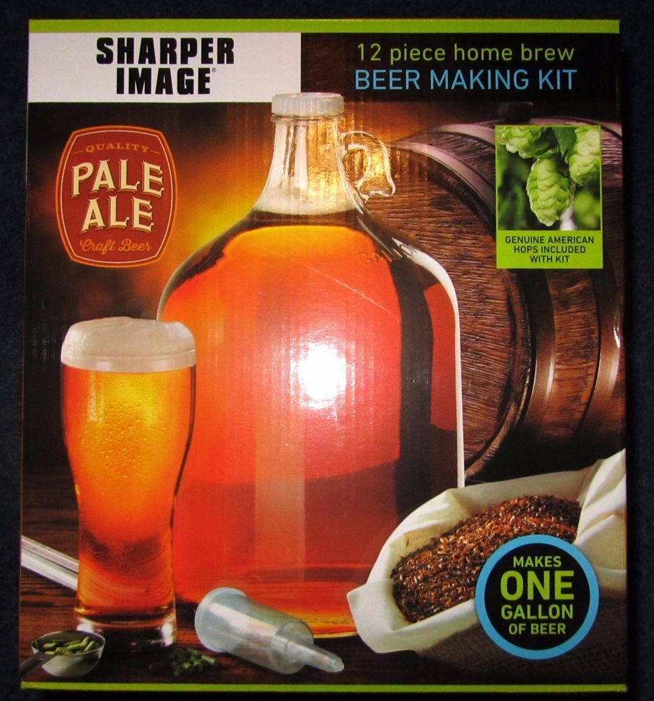 L K Sharper Image Beer Making Kit 12 Piece Home Brew Pale Ale Quality Beer Making Kits How To Make Beer Home Brewing