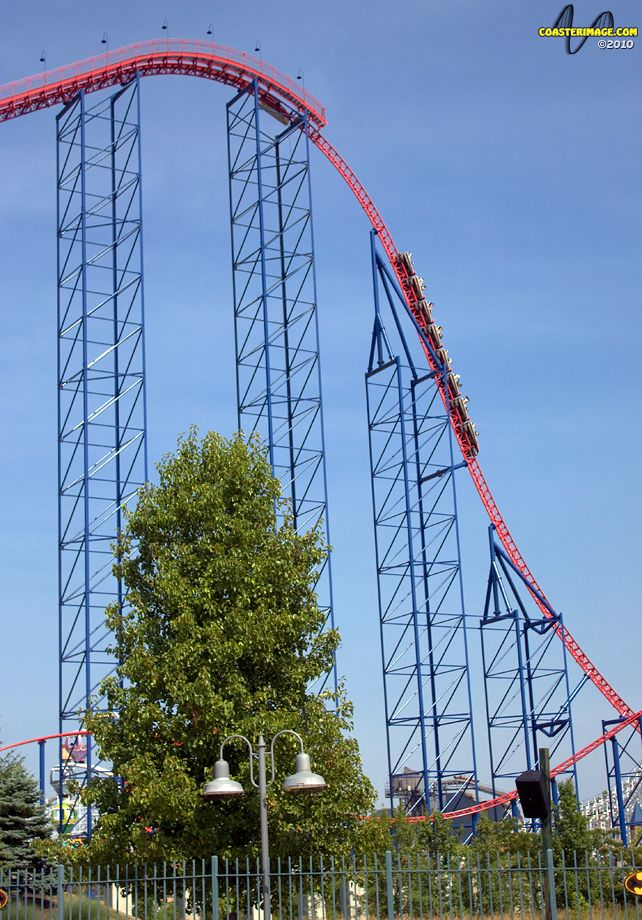Superman Ride Of Steel Pictures Roller Coaster Six Flags America Pictures