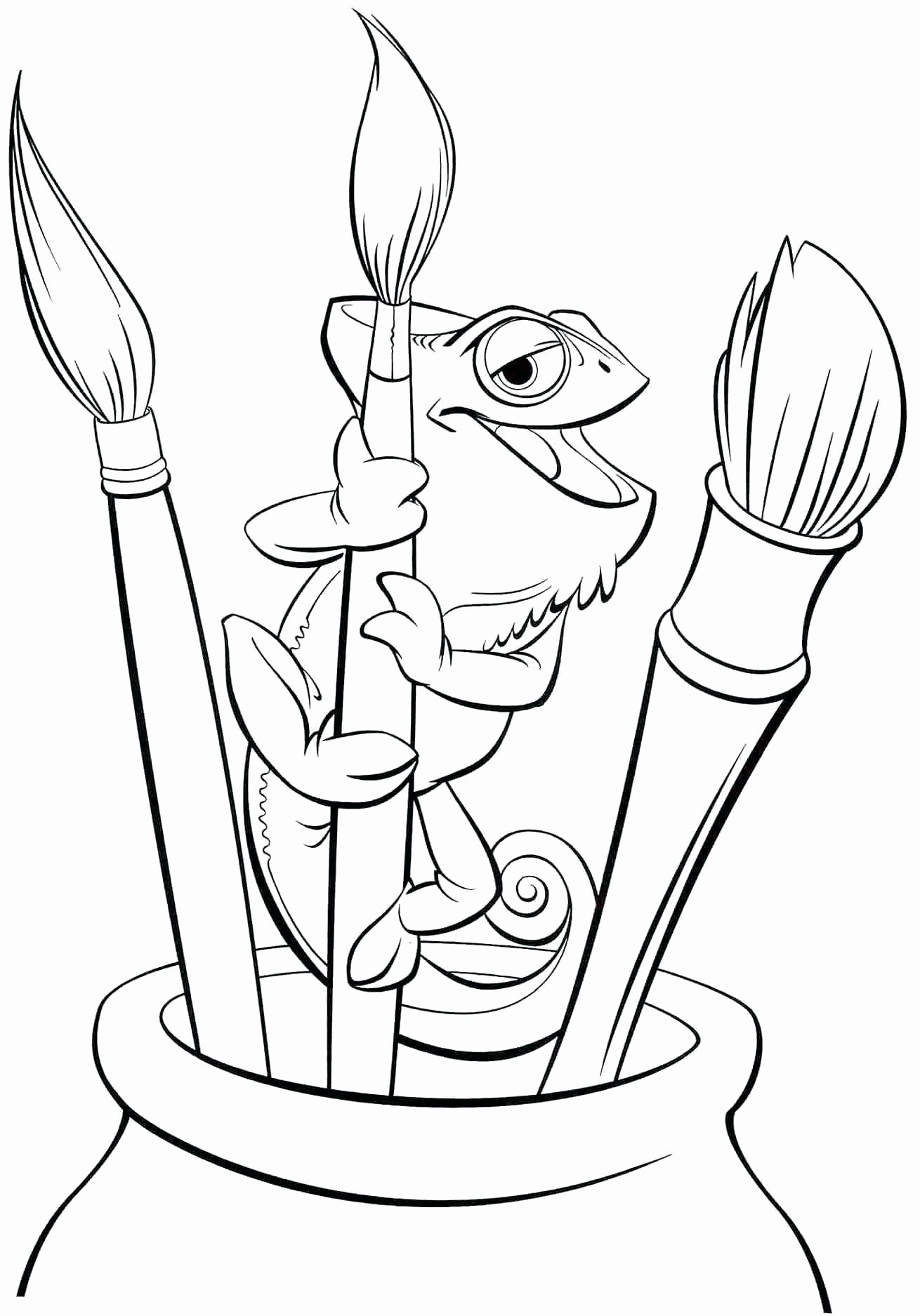 Disney Coloring Pages For Kids Pascal In 2020 Tangled Coloring Pages Disney Coloring Pages Rapunzel Coloring Pages