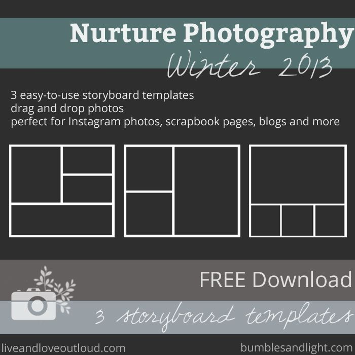 Free Download Free Set Of  Storyboard Templates Via