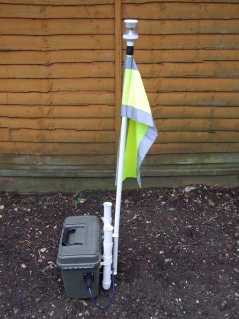 High Quality Kayak Fishing   Kayak Light Pole 1 Good Ideas